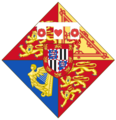 Arms of Victoria Eugenia of Battenberg before marriage with king Alfonso XIII of Spain 1.png