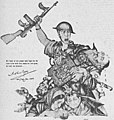 Art - Arthur Szyk (1894-1951). Tears of Rage - Action Not Pity (The New York Times) (1943), New York (cropped).jpg