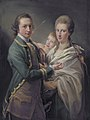 Arthur Saunders Gore, Viscount Sudley, later 2nd Earl of Arran (1734-1809), and his wife, by Pompeo Batoni.jpg