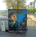 Artwork On The Pont de Tolbiac - Paris 2013.jpg