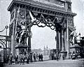 Arwed Rossbach und seine Bauten, Berlin 1904, Leipzig, Hauptportal für den Festplatz zum Bundesschießen 1884.jpg