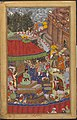 Asaf Khan presenting spoils to Akbar at Jaunpur.jpg