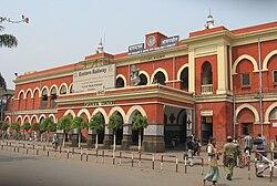 आसनसोल का रेलवे स्टेशन, १८८५ निर्मित
