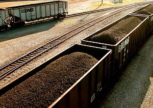 Coal cars in Ashtabula, Ohio (taken Sept. 26, ...