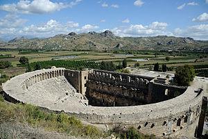 Aspendos - Image: Aspendos Amphitheatre