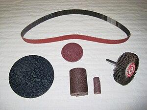Coated abrasive - Assorted Coated Abrasives