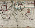 Atlas maritimus, or A book of charts - Describeing the sea coasts capes headlands sands shoals rocks and dangers the bayes roads harbors rivers and ports, in most of the knowne parts of the world. (14753427715).jpg