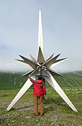 Attu peace monument