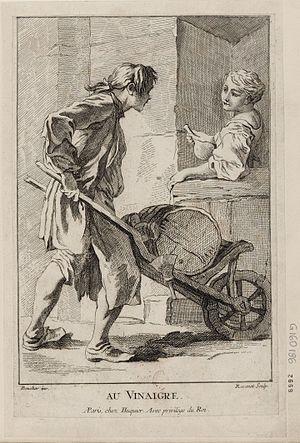 Simon François Ravenet - Vinegar by Simon François Ravenet, Bibliothèque nationale de France, 1761