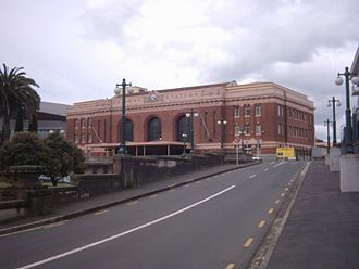 Gummer and Ford - Image: Auckland Old Railway Station