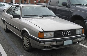 Audi Coupé (B2) - Audi Coupé GT 5E