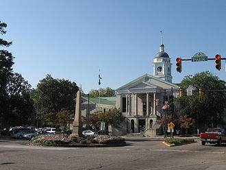 Aiken, South Carolina - The Aiken County Courthouse in August 2007