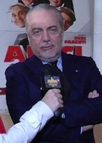 Aurelio De Laurentiis - Image: Aurelio De Laurentiis (cropped)