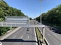 Autoroute A1 vue depuis Pont Avenue John Fitzgerald Kennedy Bourget 3.jpg
