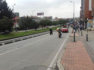 Avenida Suba - Image: Av. Suba Btá
