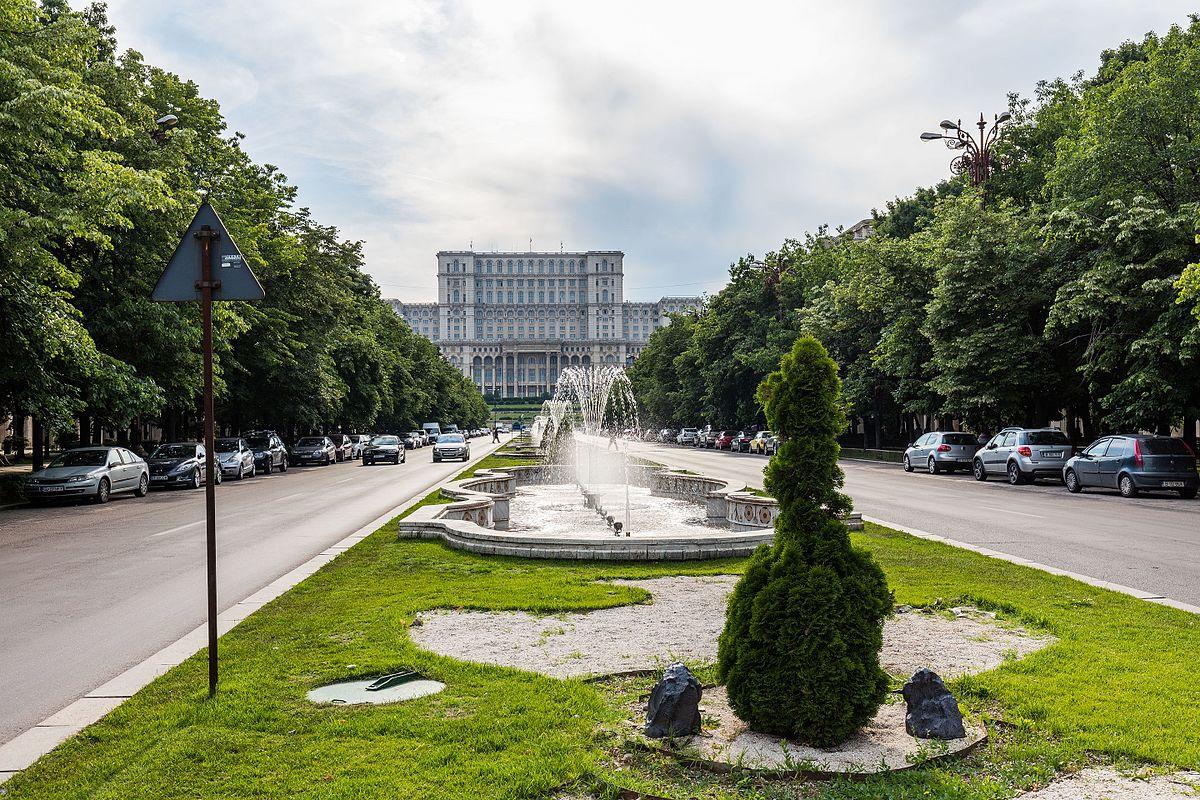 Palacio del parlamento rumano wikipedia la enciclopedia for Parlamento wikipedia