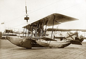 FBA Type A - Beached Imperial Russian Navy FBA Type C