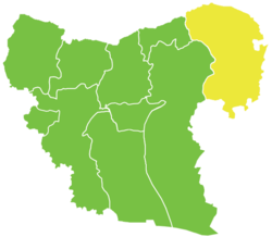 Ayn al-Arab District in Syria