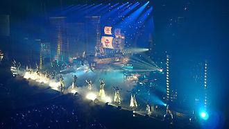 Guilty (Ayumi Hamasaki album) - Image: Ayumi Hamasaki Asia Tour 2008 Mirrorcle World