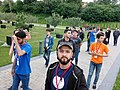 Azerbaijani Wikipedians in 2018 Spring WikiCamp 05.jpg