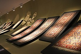 Azerbaijani carpets in Museum of Azerbaijani carpet 2.JPG