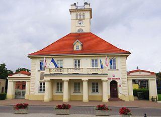 Błonie Place in Masovian Voivodeship, Poland