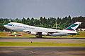 B-HIH 1 B747-267B(F) Cathay Pacific Cargo NRT 10JUL01 (6896205326).jpg