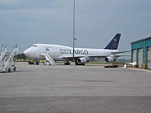 Turku Airport - Saudi Arabian Airlines Cargo at Turku Airport's Cargo APN