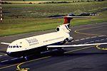 BA Trident 3 G-AWZO at NCL (16100467786).jpg