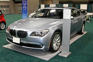 Hybrid electric vehicle - The BMW Concept 7 Series ActiveHybrid is a mild hybrid with an electric motor designed to increase power and performance.