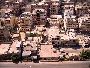 Tripoli District - A neighborhood in east Tripoli