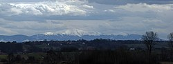 Babia Góra Range (view from N), Western Carpathian Mountains, Poland.jpg