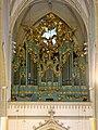 Baden - Kirche St. Stephan, Orgel.JPG