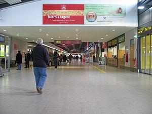 Karlsruhe/Baden-Baden Airport - Landside area inside the terminal