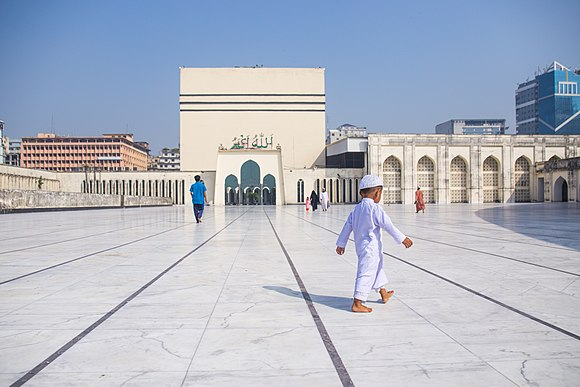 Baitul Mukarram National Mosque, Dhaka, Bangladesh.jpg
