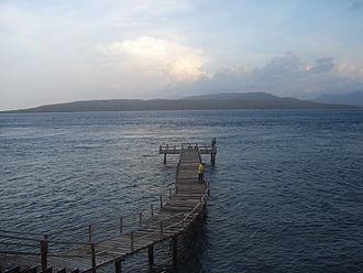 Bali Strait - Bali Strait seen from Java