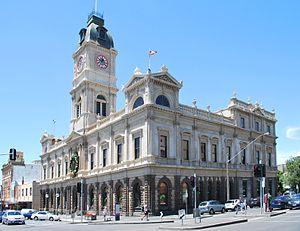 F. W. Commons - The Ballarat Town Hall