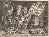 Balthasar Anton Dunker - Katzenkonzert II