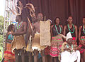 Bamasaba cultural leaders and their guards.JPG