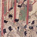 Ban Dainagon Ekotoba - People watching fire 6.jpg