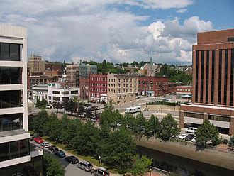Bangor, Maine - Downtown Bangor