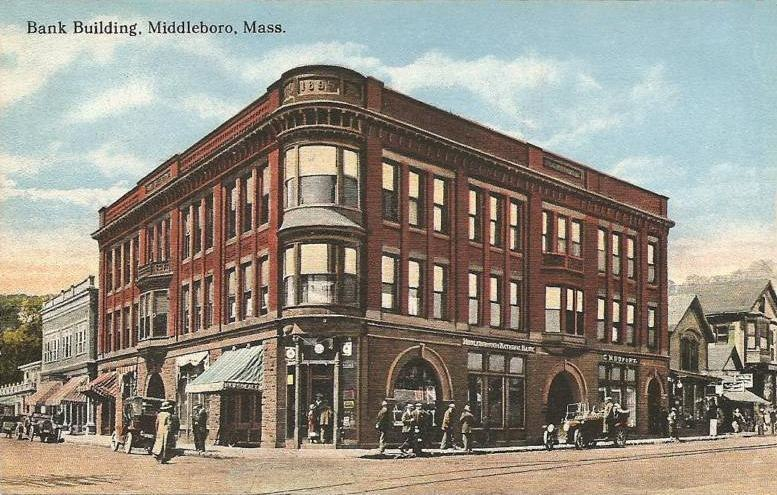 Bank Building, Middleborough, MA