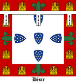 Banner of Arms of Peter, Duke of Coimbra.png