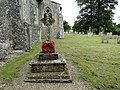 Banningham war memorial in the churchyard (geograph 4600950).jpg