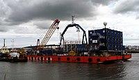 Barge 'UR 101' at Belfast - geograph.org.uk - 1407449.jpg