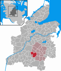 Bargstedt – Mappa