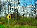Barn and a Silo though the Trees - panoramio.jpg