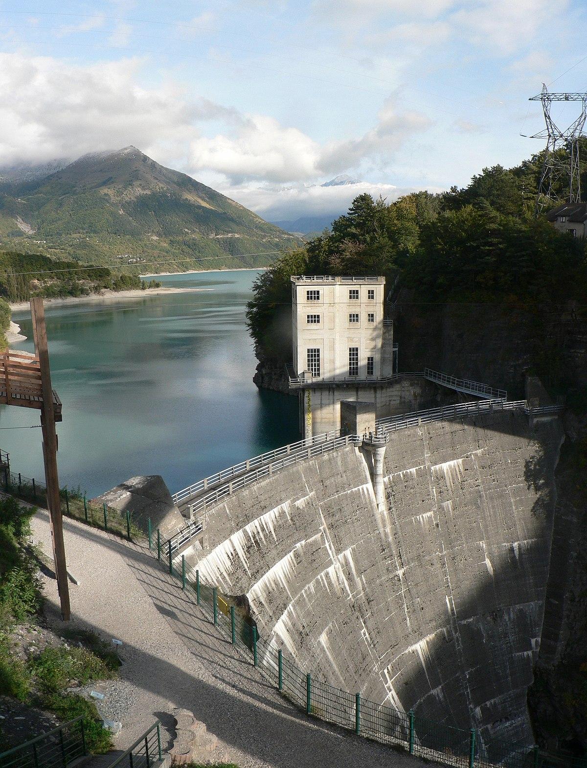 Super Lac du Sautet — Wikipédia HV96