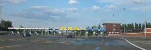 Barriera Italiana all'uscita di Venezia Mestre sull'A57