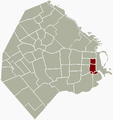Barriosur Buenos Aires map.png